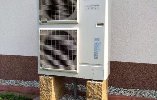 Venkovní jednotka tepelného čerpadla Fujitsu